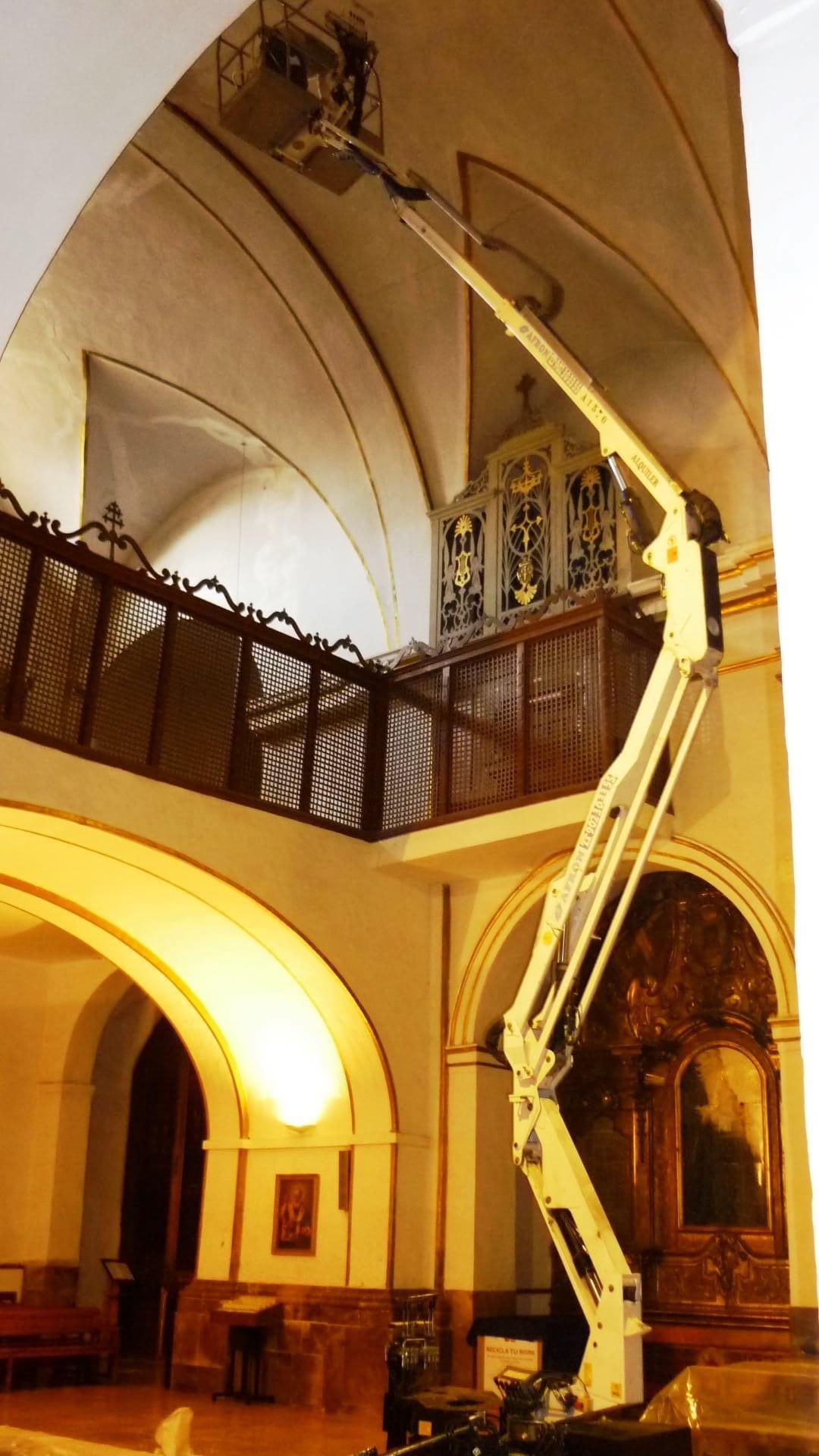 Monasterio del Santo Sepulcro. Iglesia de San Nicolás - Zaragoza
