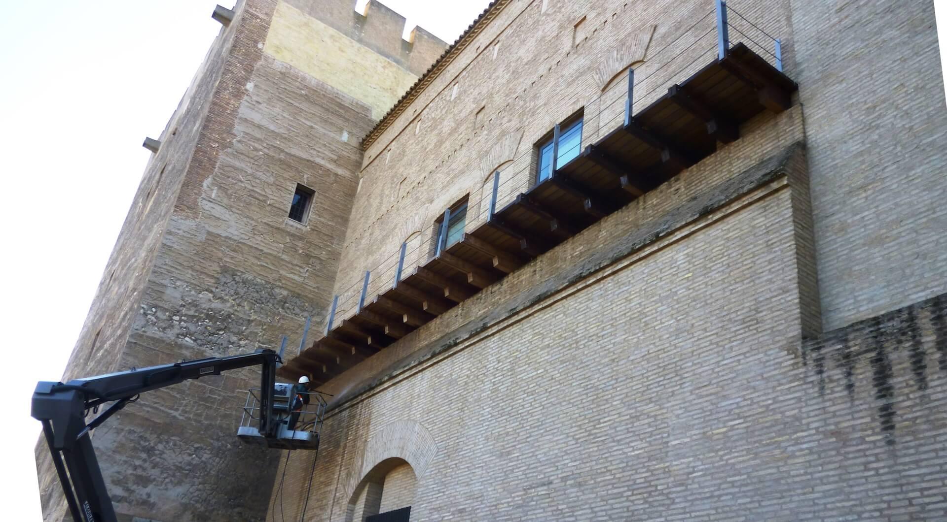 Palacio de La Aljafería. Sede de las Cortes de Aragón