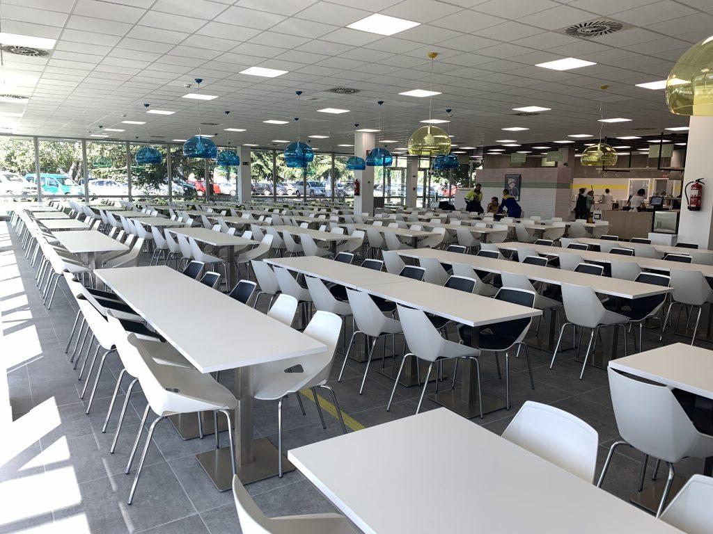 Nuevos comedores para los empleados de Michelin