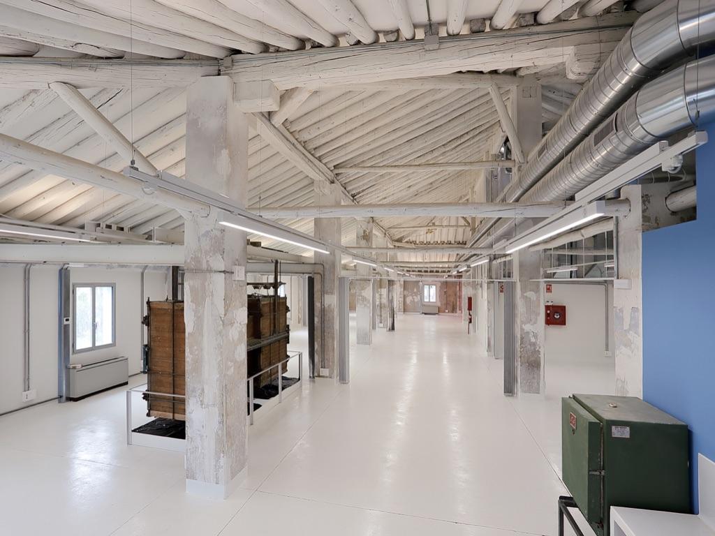 Última fase de rehabilitación de la Antigua Fábrica de Harinas de Zaragoza