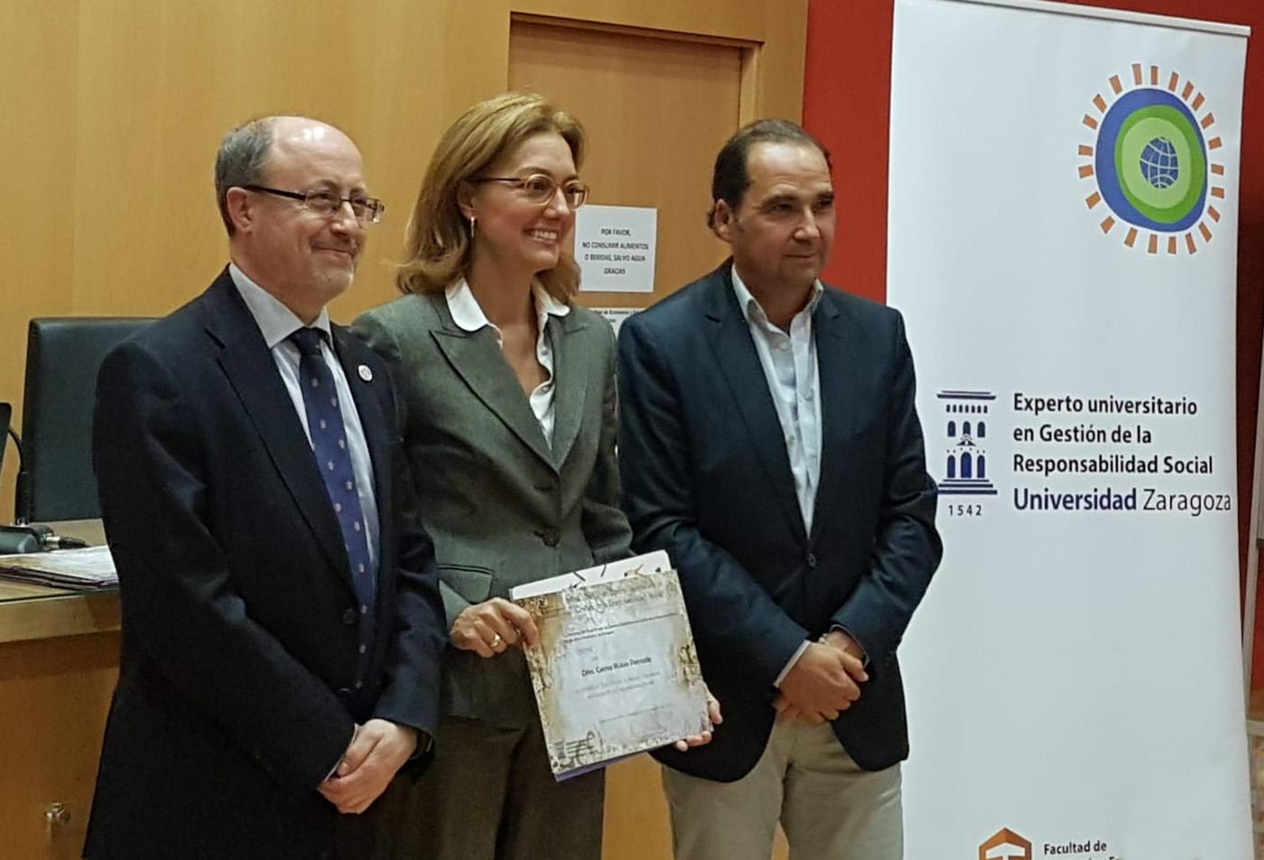 Rubio Morte recibe el sello de Responsabilidad Social Aragón 2020