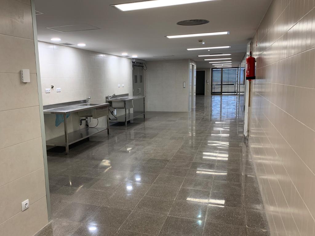 Se inaugura el bloque quirúrgico del Hospital Ernest Lluch de Calatayud, tras 3 meses de reformas